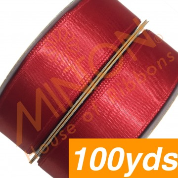 19mmx100yds SF Satin Red