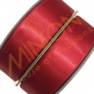19mmx25yds SF Satin Red