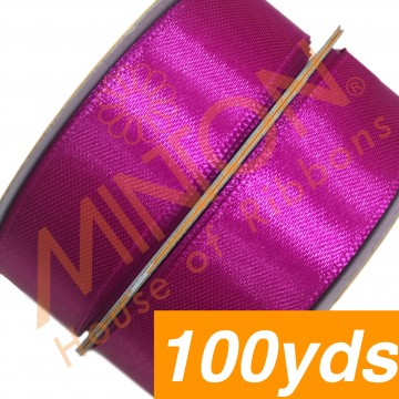 19mmx100yds SF Satin Azalea Pink