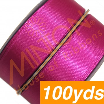 19mmx100yds SF Satin Shocking Pink