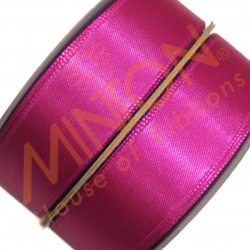 19mmx25yds SF Satin Shocking Pink