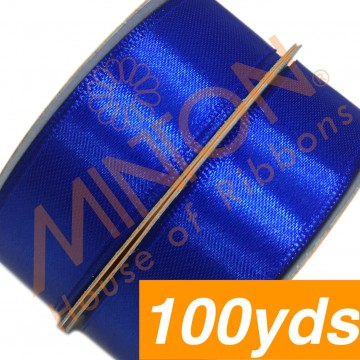 19mmx100yds SF Satin Electric Blue