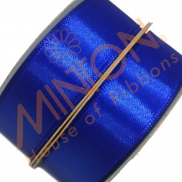 19mmx25yds SF Satin Electric Blue
