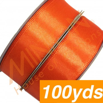 19mmx100yds SF Satin Orange