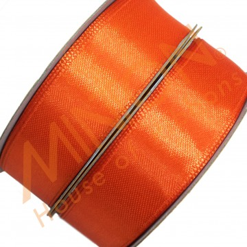19mmx25yds SF Satin Orange