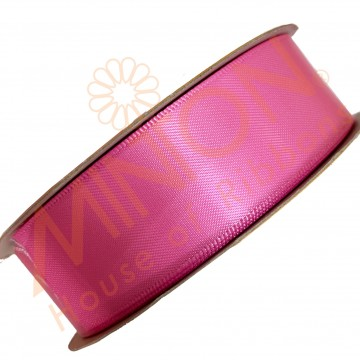 25mmx25yds DF Satin Hot Pink