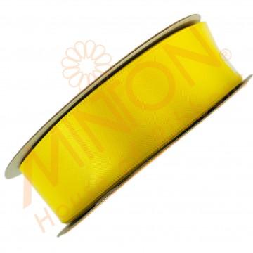 25mmx25yds DF Satin Daffodil Yellow
