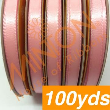 6mmx100yds DF Satin Dark Pink