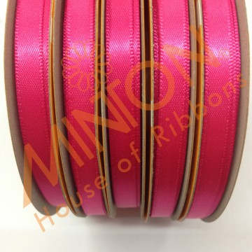 6mmx25yds DF Satin Shocking Pink