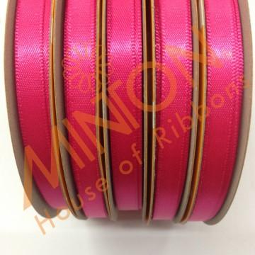 6mmx25yds DF Satin Shocking Pink
