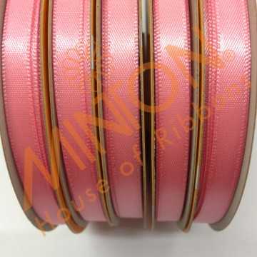 6mmx25yds DF Satin Coral Rose