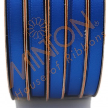 6mmx25yds DF Satin Electric Blue
