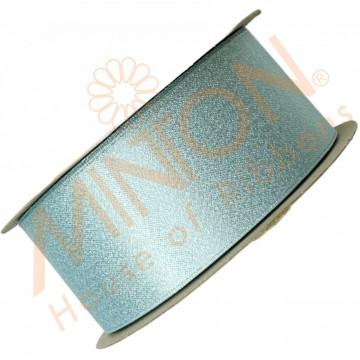38mmx20yds Purl Ocean Blue/Silver Thread
