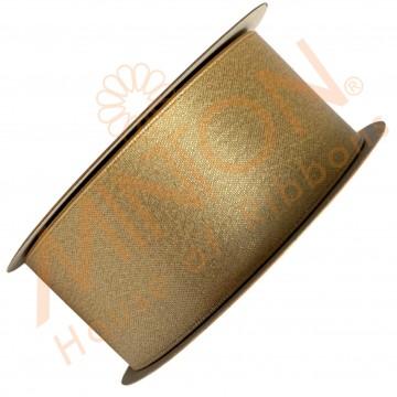 38mmx20yds Purl Satin Raw Silk Gold/Silver Thread