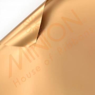 Duo Colour BOPP Plastic Wrapper, 58cmx58cmx20pieces Bronzey Gold