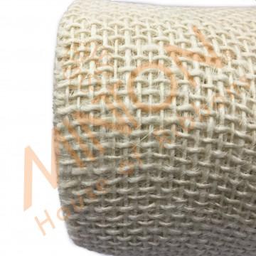 52cmx5yds Burlap Wrapper Ivory