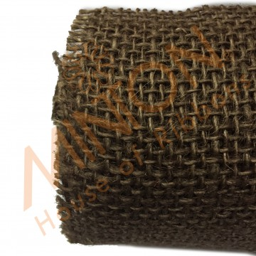 52cmx5yds Burlap Wrapper Brown