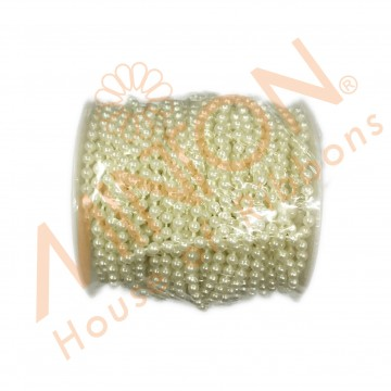 4mmx25m Pearl Roll Ivory