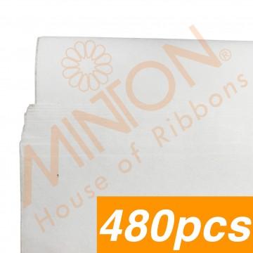 Tissue Paper, 50cmx75cmx480pieces White
